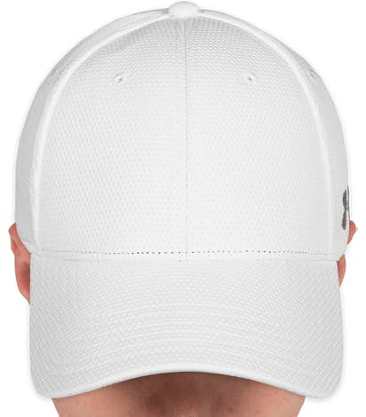 Under Armour Curved Bill Cap - White