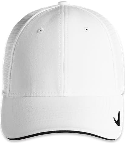 Nike Dri-FIT Mesh Back Hat - White / White