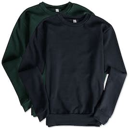 American Apparel Flex Fleece Drop Shoulder Crewneck Sweatshirt
