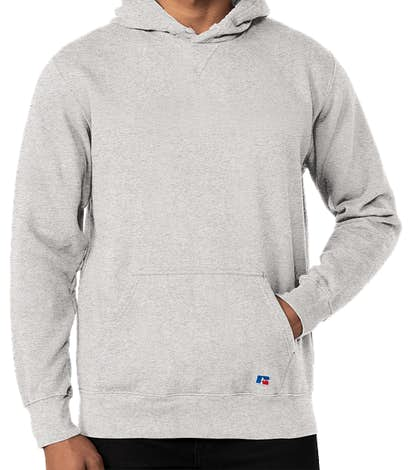 Russell Athletic Cotton Rich Pullover Hoodie - Ash