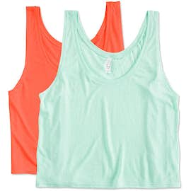 Canada - Bella + Canvas Women's Flowy Crop Tank