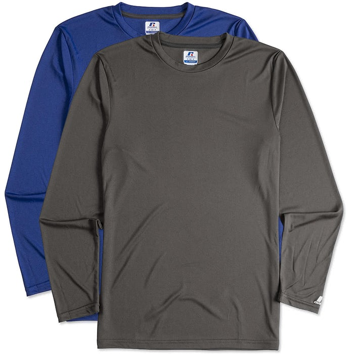 fe204a89243fbb Design Custom Printed - Russell Athletic Long Sleeve Performance ...