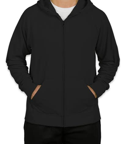 Jerzees Performance Zip Hoodie - Black