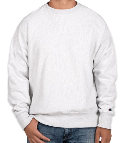 Champion Heavyweight Reverse Weave® Crewneck Sweatshirt - Silver Grey