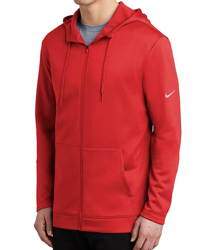 36cd46ddd47 Nike Therma-FIT Full-Zip Performance Hooded Sweatshirt - Other View: 1
