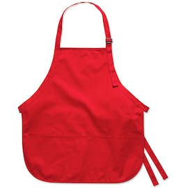 Stain Release Medium Length Apron - Screen Printed