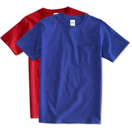 Hanes Tagless Pocket T-shirt