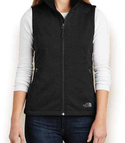 The North Face Women's Ridgeline Soft Shell Vest - TNF Black