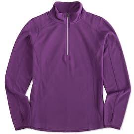 Port Authority Women's Quarter Zip Microfleece Pullover