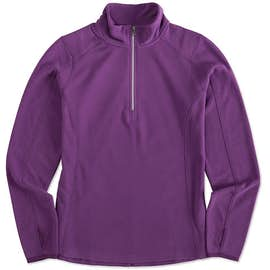 Port Authority Women's Quarter Zip Microfleece Pullover