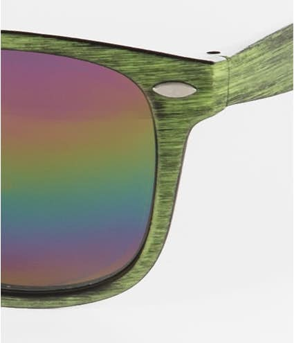 2844d436cb7 Design Custom Printed Woodtone Mirrored Malibu Sunglasses Online at ...