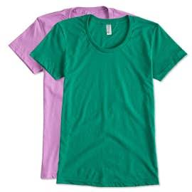 American Apparel Juniors 50/50 T-shirt