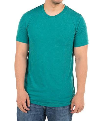 e9873459994 Custom Bella + Canvas Tri-Blend T-shirt - Design Short Sleeve T ...