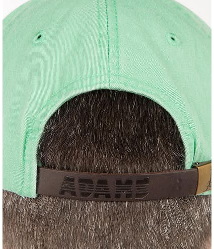9fab949511d Custom Adams Pigment Dyed Hat - Design Baseball Caps Online at ...
