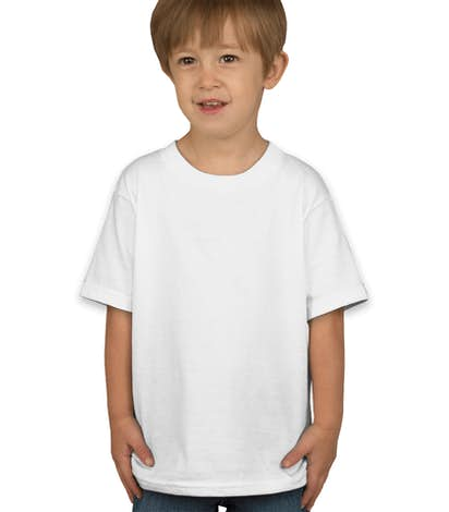 Hanes Toddler Tagless T-shirt - White