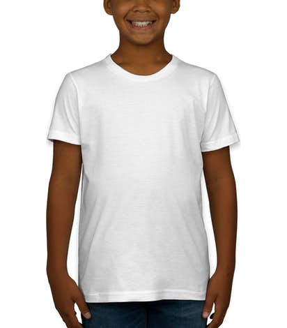 American Apparel USA-Made Youth Jersey T-shirt - White