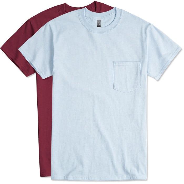 4530a8acbfc Custom Canada - Gildan Ultra Cotton Pocket T-shirt - Design T-shirts ...