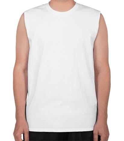 Canada - Gildan Ultra Cotton Muscle Tank - White