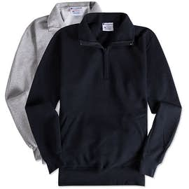 Champion Double Dry Eco Quarter Zip Pullover Sweatshirt