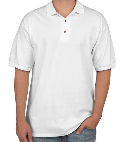 Gildan Ultra Cotton Polo - White