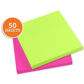 "Neon - 3M Post-it® Note- 2.75"" x 3"" - 50 sheets/pad"