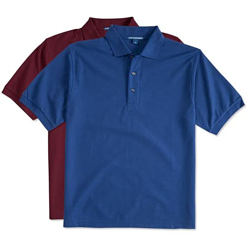 Custom Polos - Design Your Own at CustomInk.com eb8176c4bc70