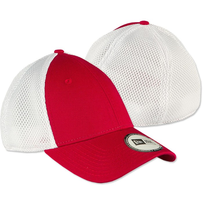 3292e109144 Custom New Era Stretch Fit Mesh Hat - Design Premium Hats Online at ...
