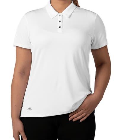 Adidas Women's Performance Polo - White