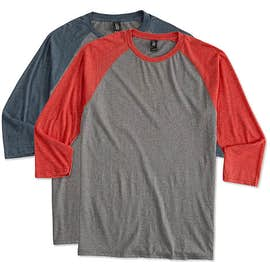 District Tri-Blend Baseball Raglan