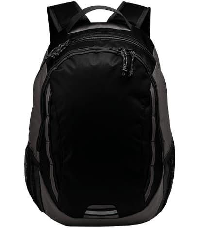 Port Authority Ridge Backpack - Black / Dark Charcoal