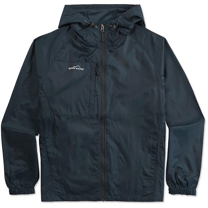 3104bdbf975 Custom Eddie Bauer Full Zip Hooded Packable Jacket - Design Windbreakers  Online at CustomInk.com