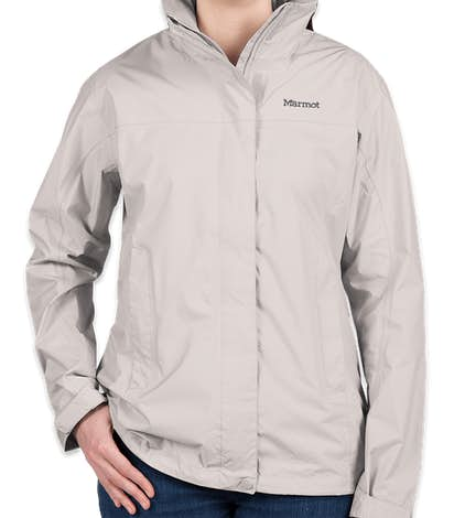 Marmot Women's Waterproof PreCip Jacket - Platinum