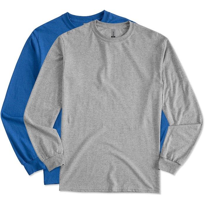 790ad714bee3 Custom Gildan 50/50 Long Sleeve T-shirt - Design Long Sleeve T ...