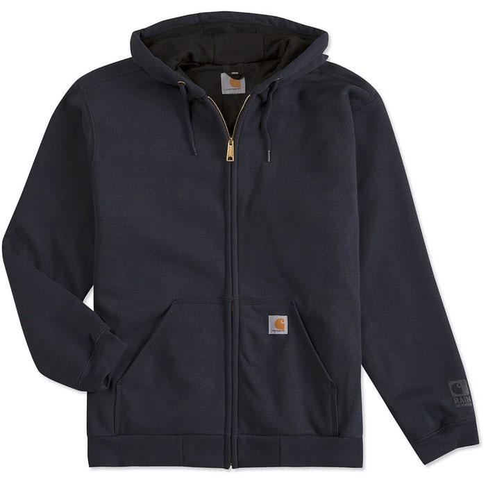 Custom Carhartt Water Resistant Thermal Lined Zip Hoodie - Design Full Zip  Sweatshirts Online at CustomInk.com 1844f008826