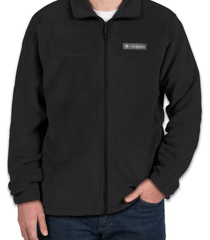 Columbia Steens Mountain Full Zip Fleece Jacket - Black