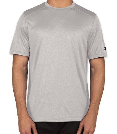 Champion Vapor Heather Performance Shirt - Oxford Grey