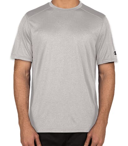 Champion Vapor Heather Performance Shirt - Oxford Grey