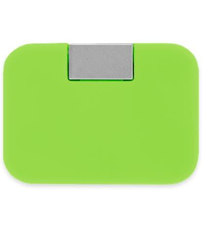 4-Port Rotas USB Hub - Lime Green
