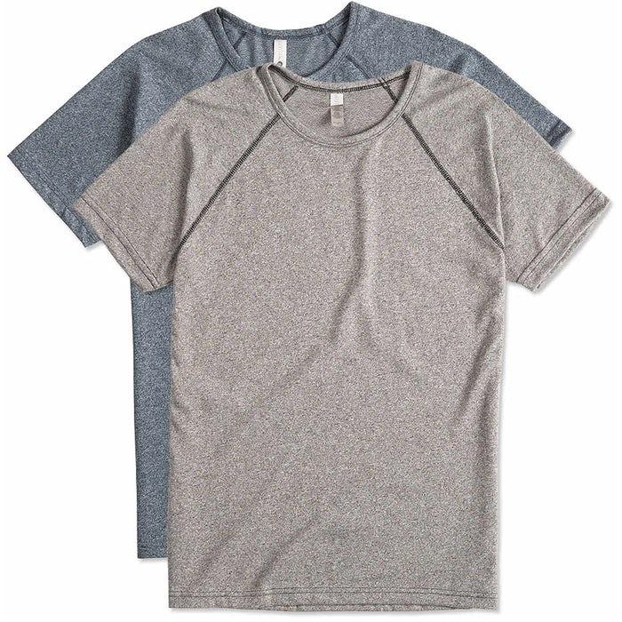 066e3633 Design Next Level Melange Raglan T-shirt Online at CustomInk