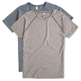 Next Level Melange Raglan T-shirt