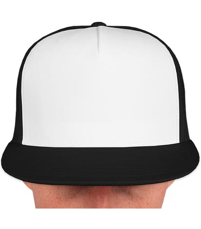 Canada - Yupoong Classic Trucker Hat - Black / White / Black