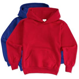 Hanes Youth EcoSmart 50/50 Pullover Hoodie