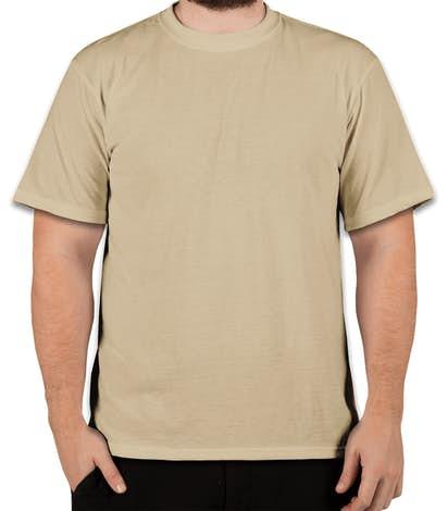 Soffe Military Performance Blend T-shirt - Sand