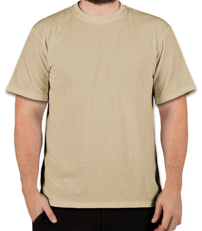 Soffe Military Performance Blend T-shirt - Sand