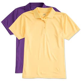 Ultra Club Women's Mesh Pique Performance Polo