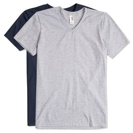 Canada - Anvil Jersey V-Neck T-shirt