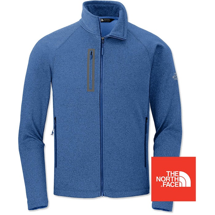 d1425465d2b1 Design Custom Embroidered The North Face Canyon Flats Fleece Jacket ...