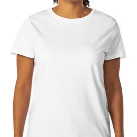 Hanes Women's 100% Cotton T-shirt - Color: White