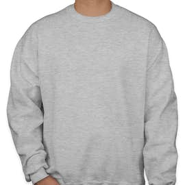 Jerzees Super Sweats® 50/50 Crewneck Sweatshirt - Color: Ash