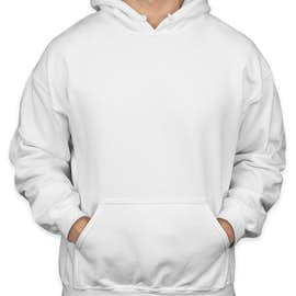 Gildan Midweight 50/50 Pullover Hoodie - Color: White